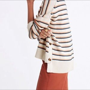 Madewell Striped Sweater, Small